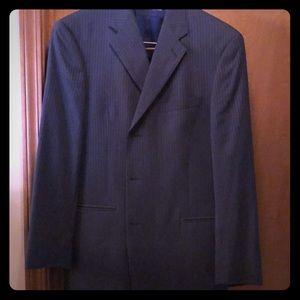 Tommy Hilfiger Blue Pin Stripe Suit